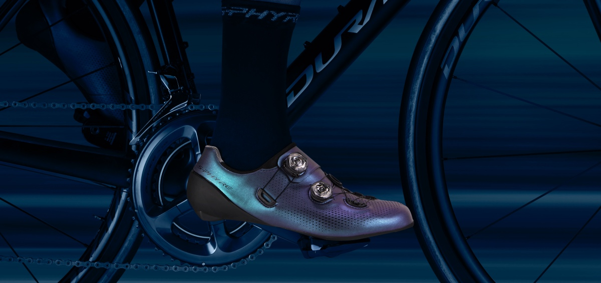 Shimano S-PHYRE Aurora shoes and glasses released