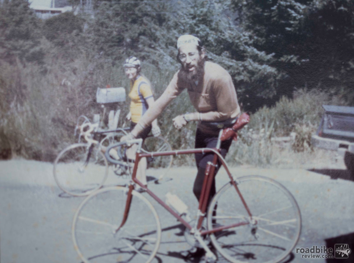 Bruce Gordon started building bikes in the mid-1970s.