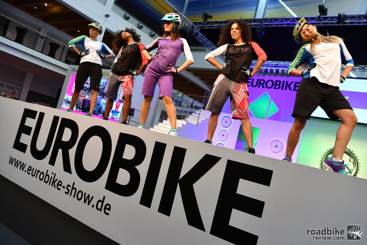 Eurobike 2016 is in the books. But before we move on to Las Vegas and Interbike at the end of September, let's take one more look back at this cycling industry extravaganza, starting with a Eurobike tradition, the fashion show! Photo courtesy Eurobike