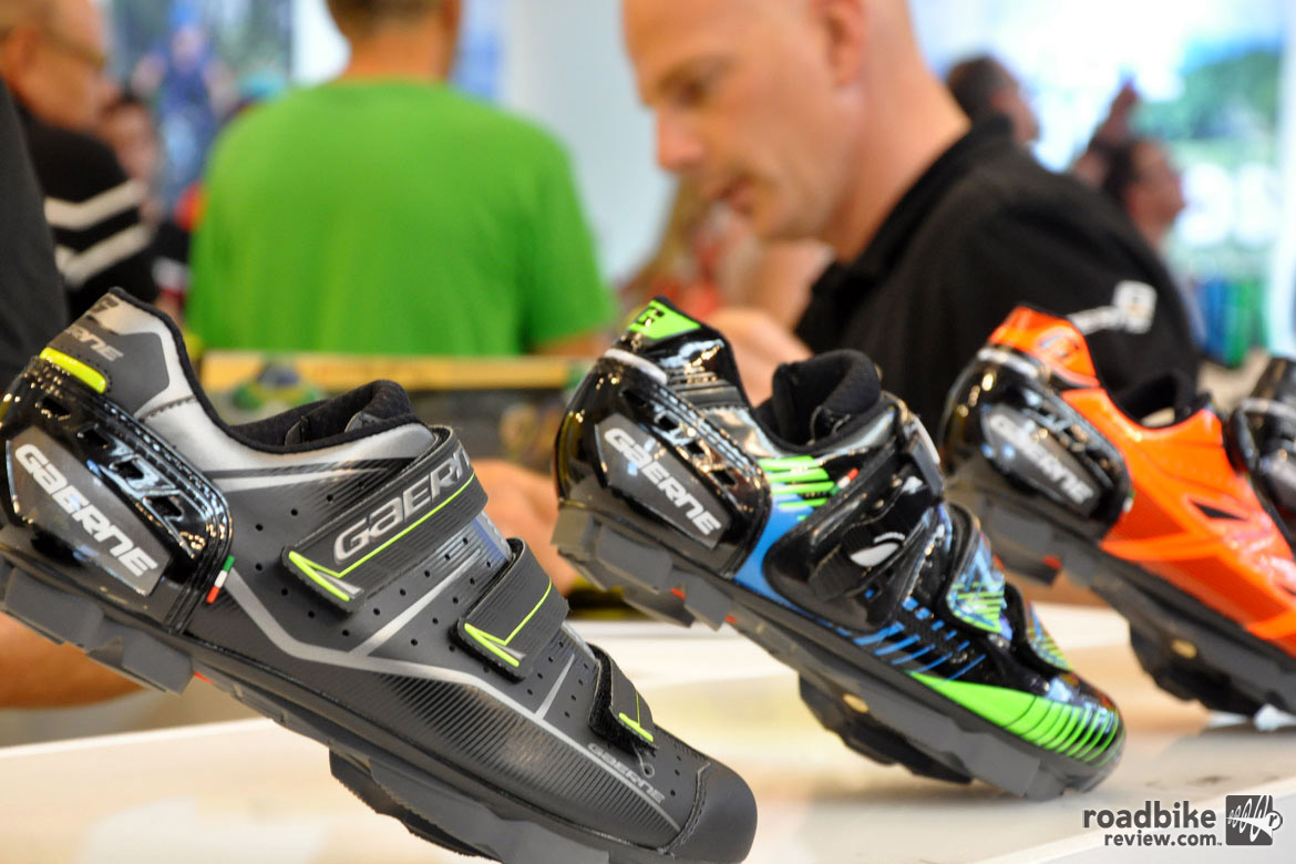 Garneau is taking a more traditional approach to MTB footwear. Photo courtesy Eurobike