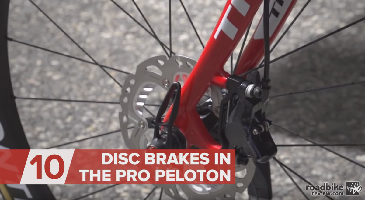 Disc Brakes in the Pro Peloton