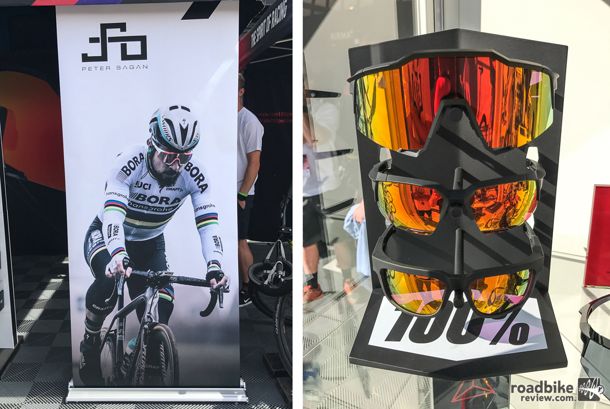 100% sprinting into road cycling eyewear