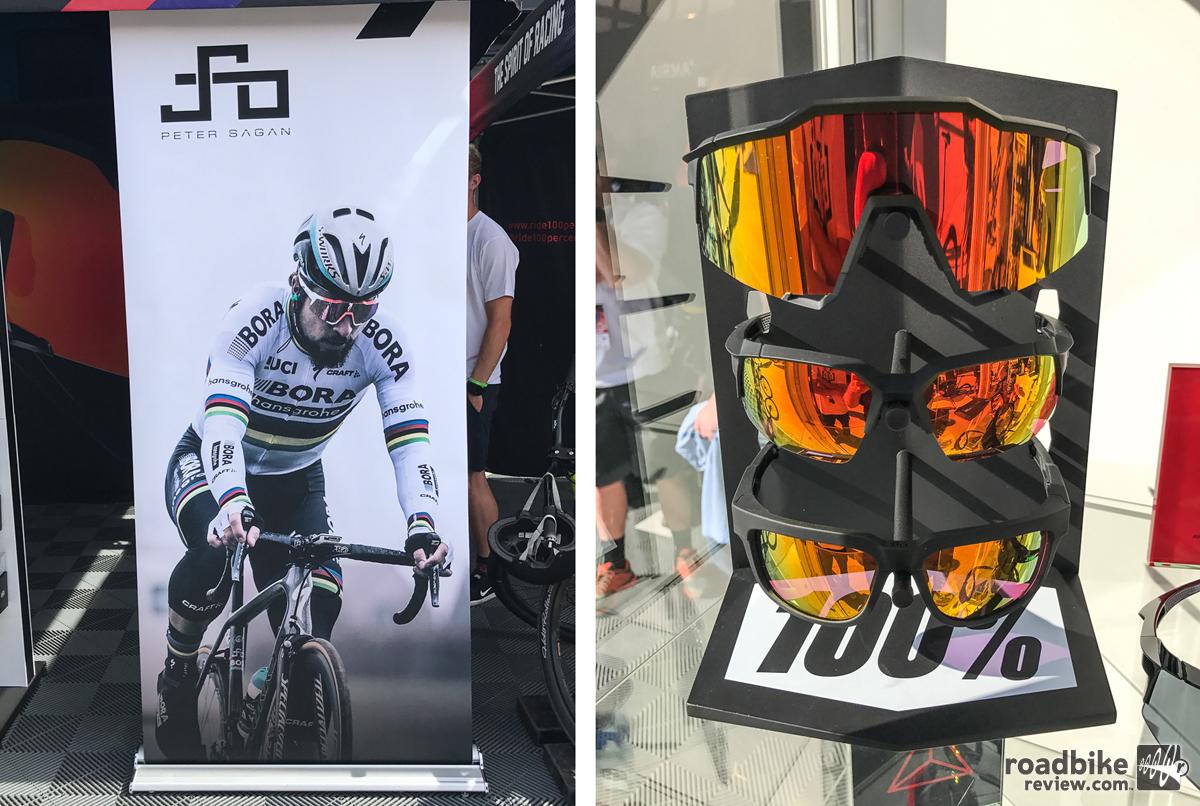 3a08542e9cb 100% sprinting into road cycling eyewear. Bolstered by Peter Sagan ...