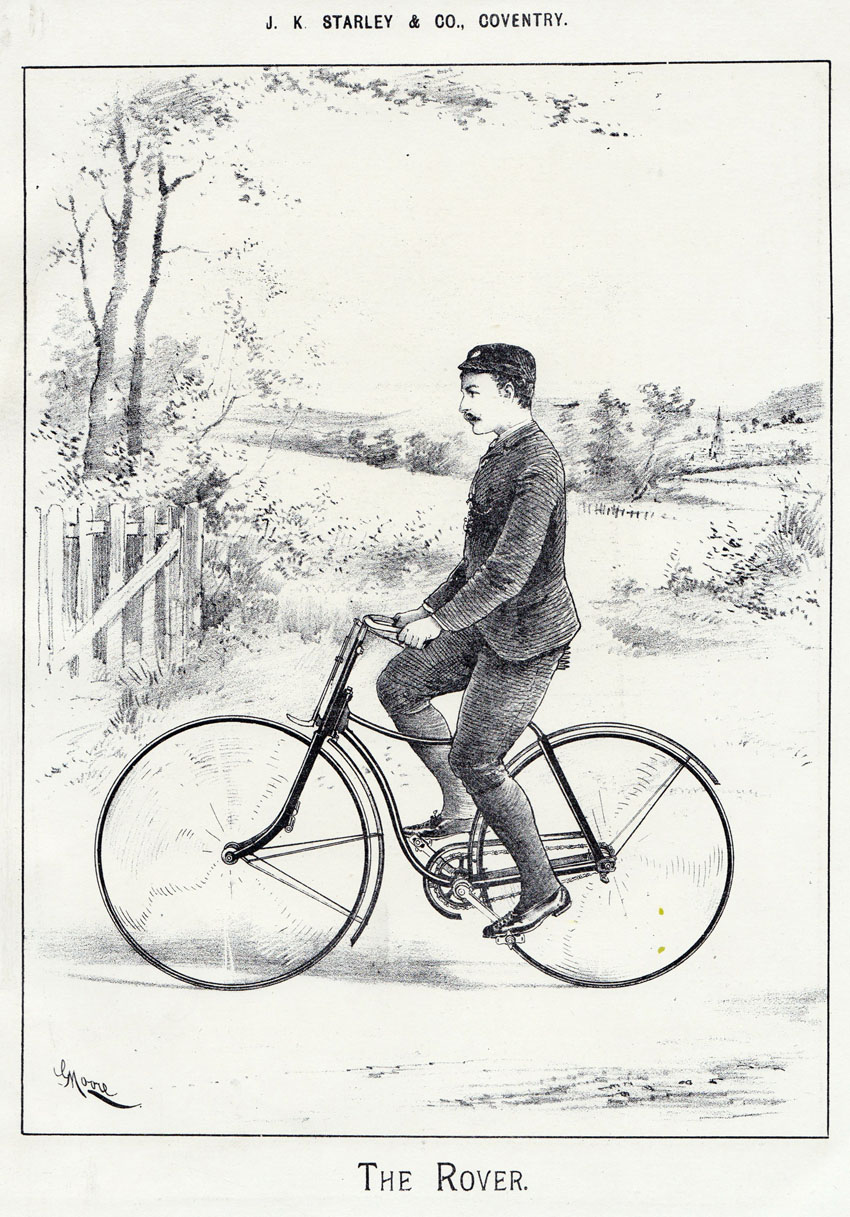 1888 Rover Bicycle