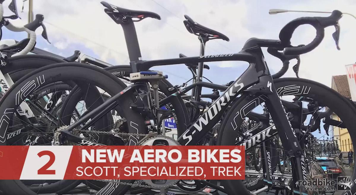 New Aero Bikes