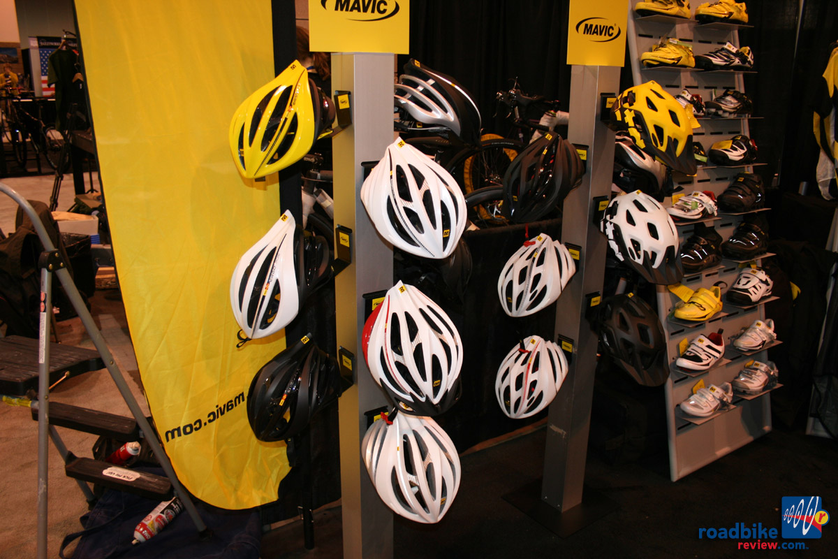 Mavic road helmets