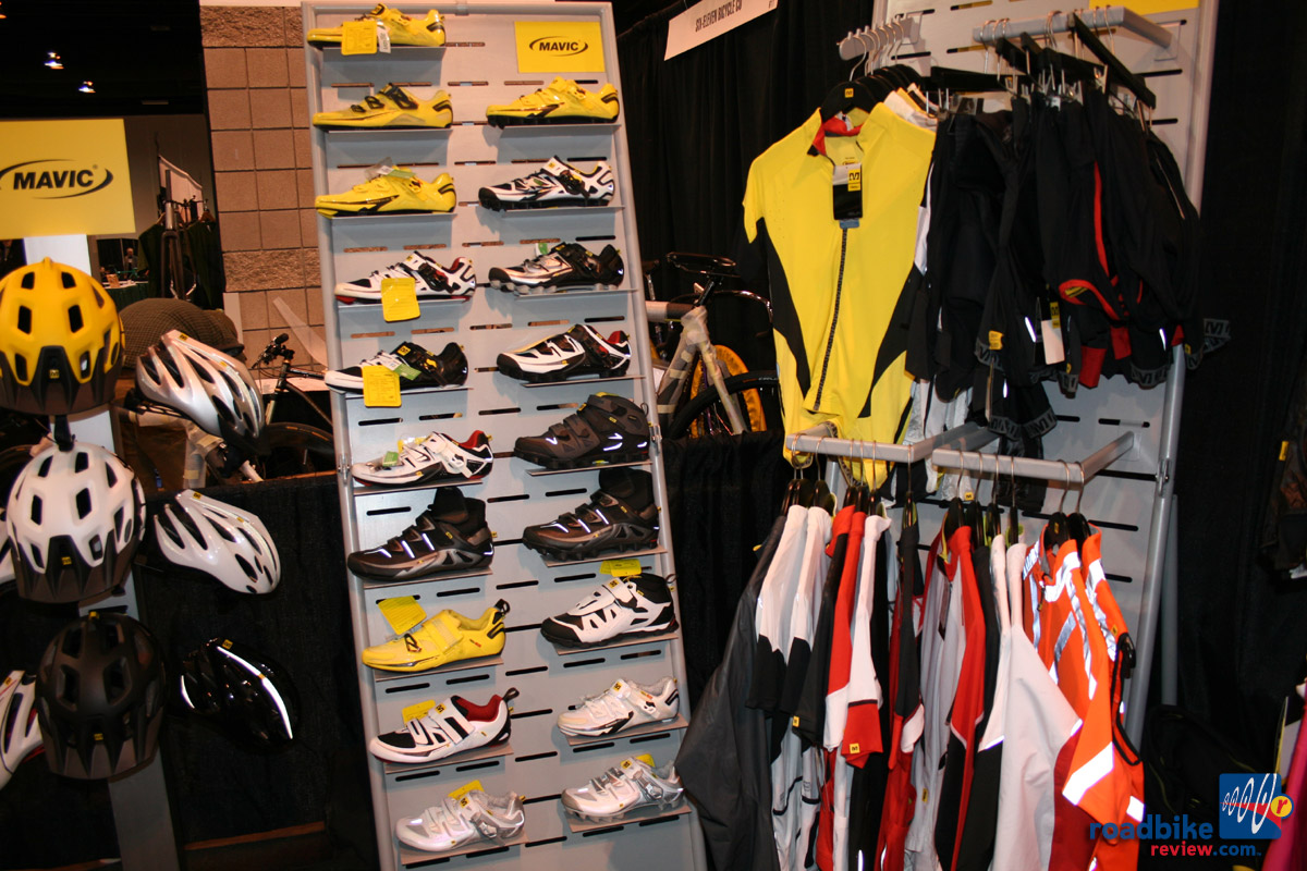 Mavic helmets, shoes and apparel