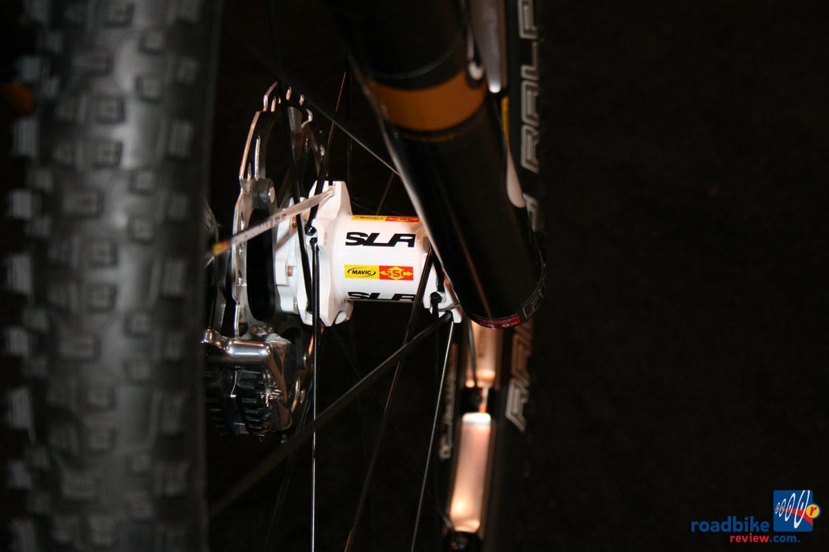Mavic SLR 650b wheelset