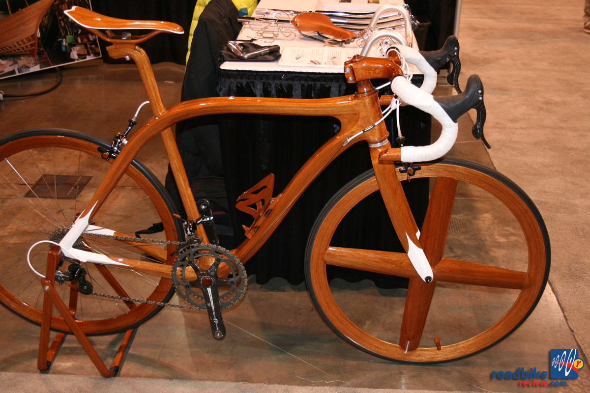 Sanomagic Wooden road bike