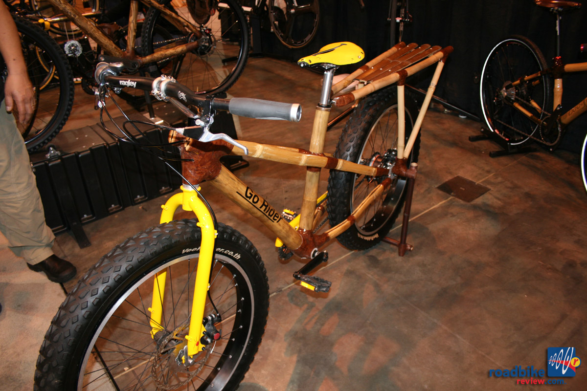 Bamboosero fat bike