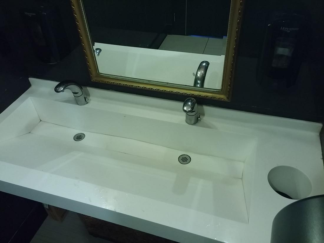 Public Bathroom Fixtures With A Very Poor Sense Of Style - Public bathroom fixtures