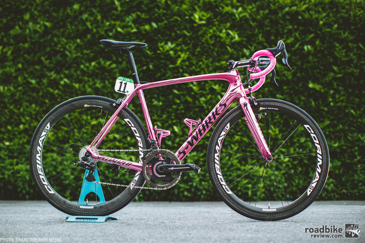 The Tarmac is Specialized's all around race bike.