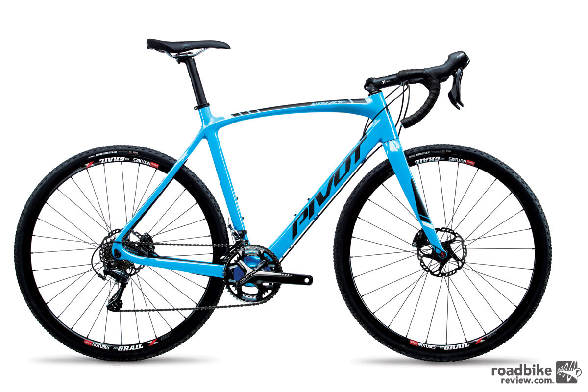 The lone full build option includes Shimano Ultegra drivetrain and brakes, and Stan's Grail wheels for $3999.