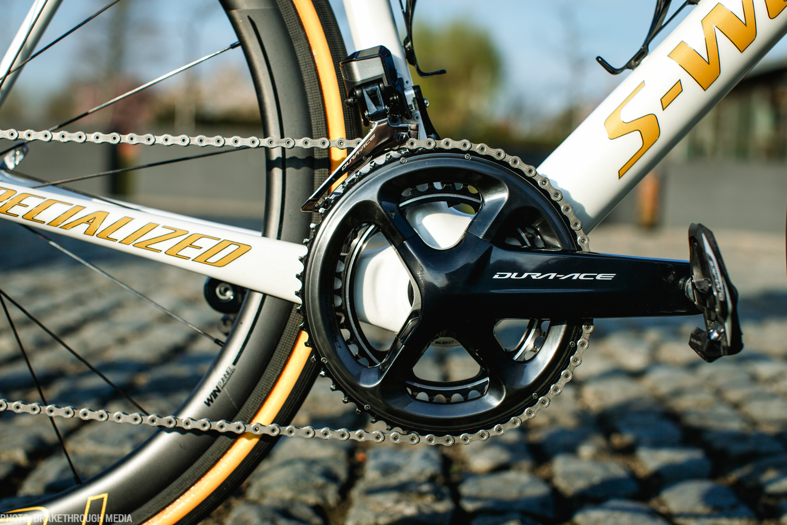 Tom Boonen's Specialized Tarmac