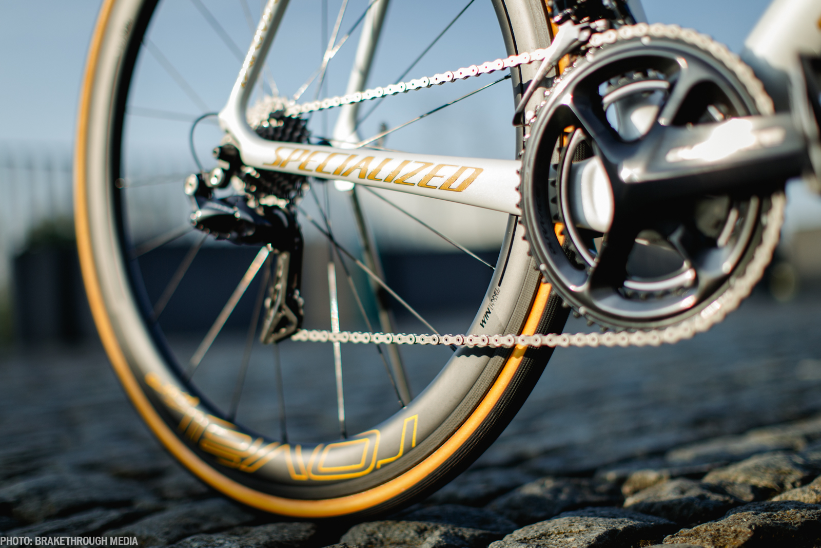 Tom Boonen's Specialized Tarmac with new Dura Ace Di2