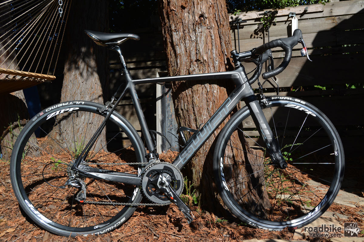 At 15.3 pounds, this bike is ready to climb.