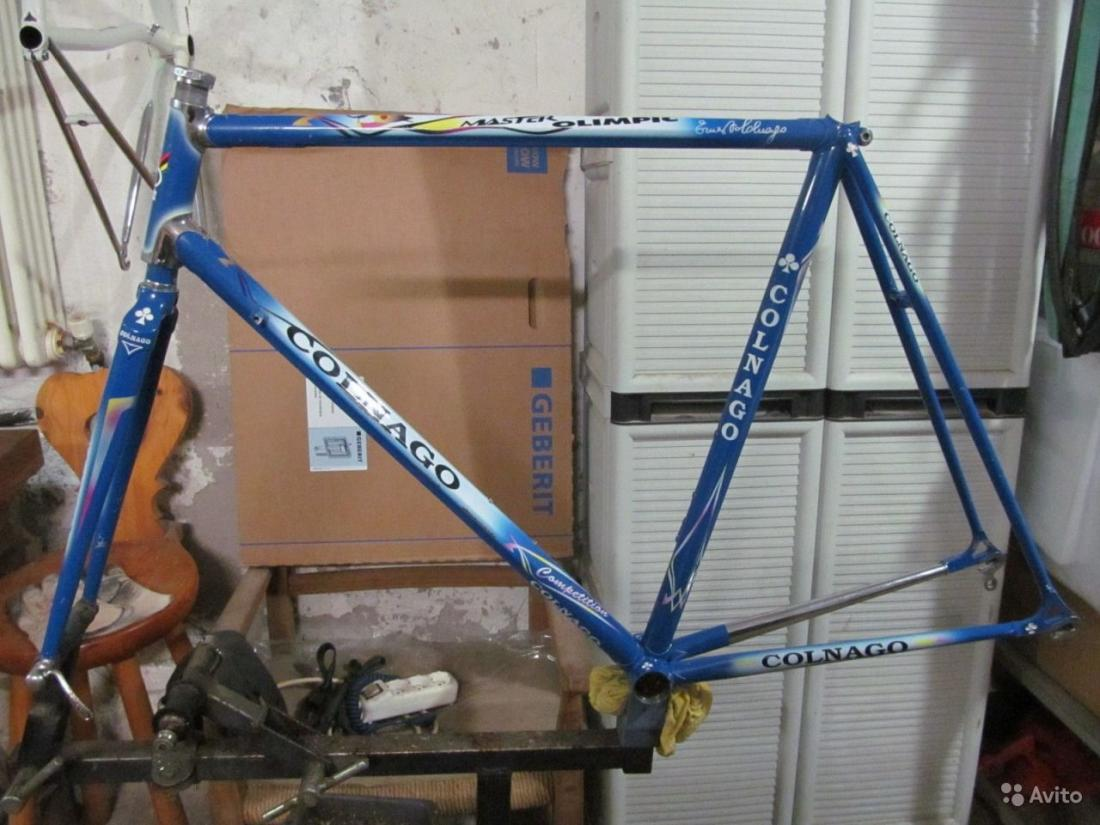 Fake Steel Colnago Master Or Just Repainted