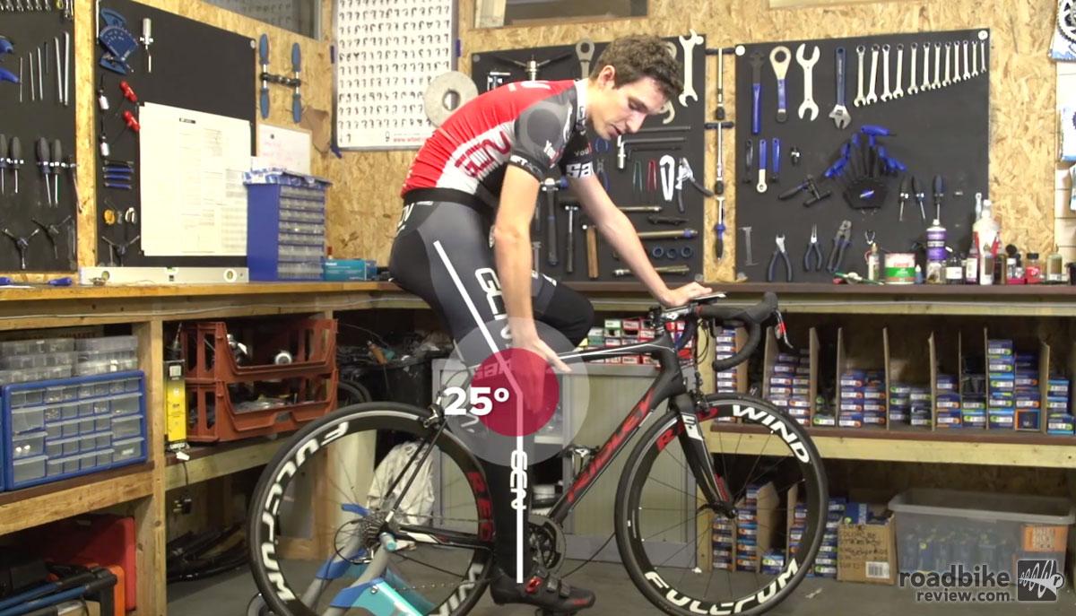 Correct Road Bike Saddle Height