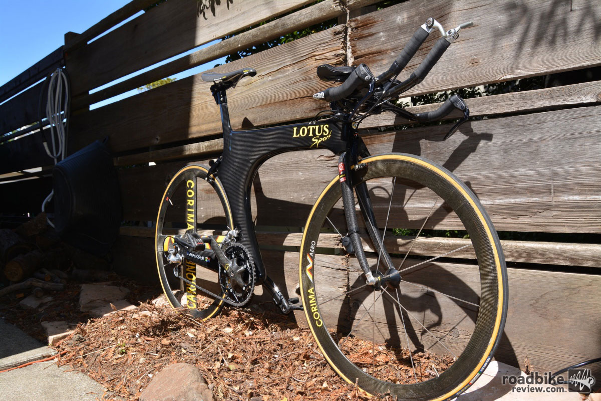 1996 Lotus 110 Time Trial Bike