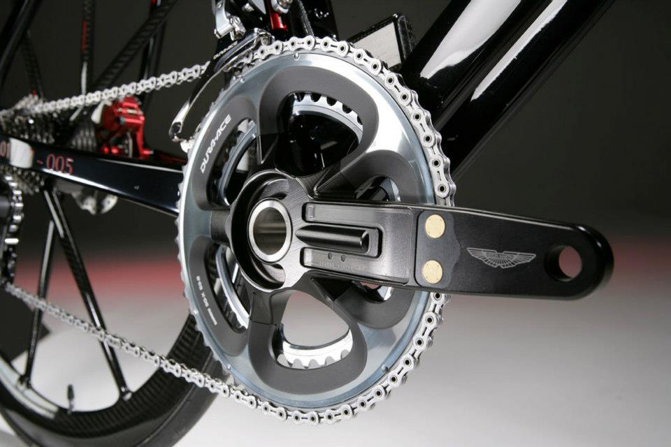 Aston Martin One-77 Cycle Power Meter Cranks