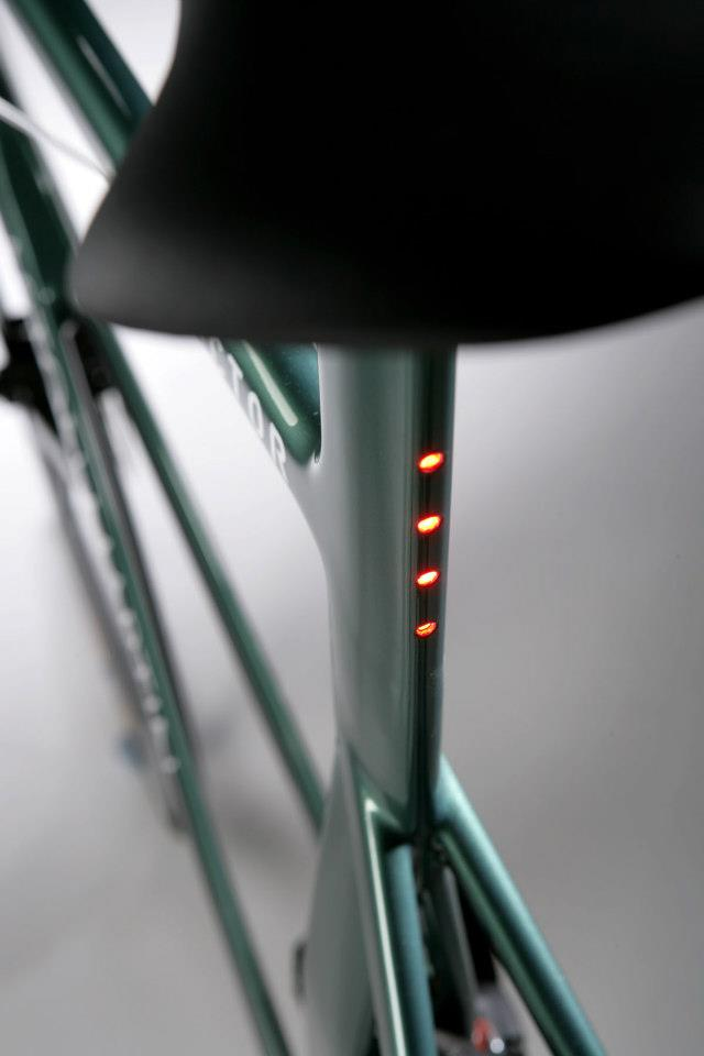 Integrated LED rear lights