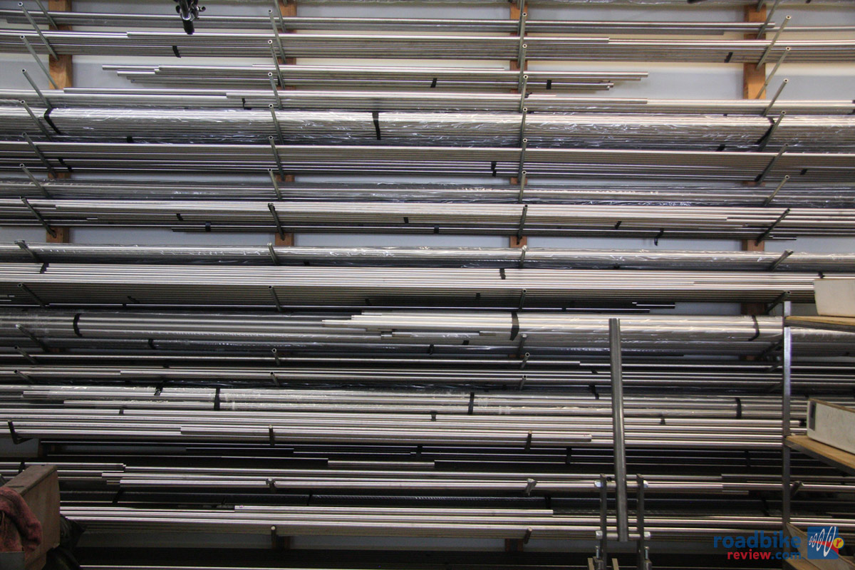 Titanium tubing of all sizes
