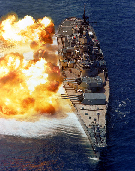 What's Something Super Touristy You've Never Done in Your Town?-450px-bb61_uss_iowa_bb61_broadside_usn.jpg