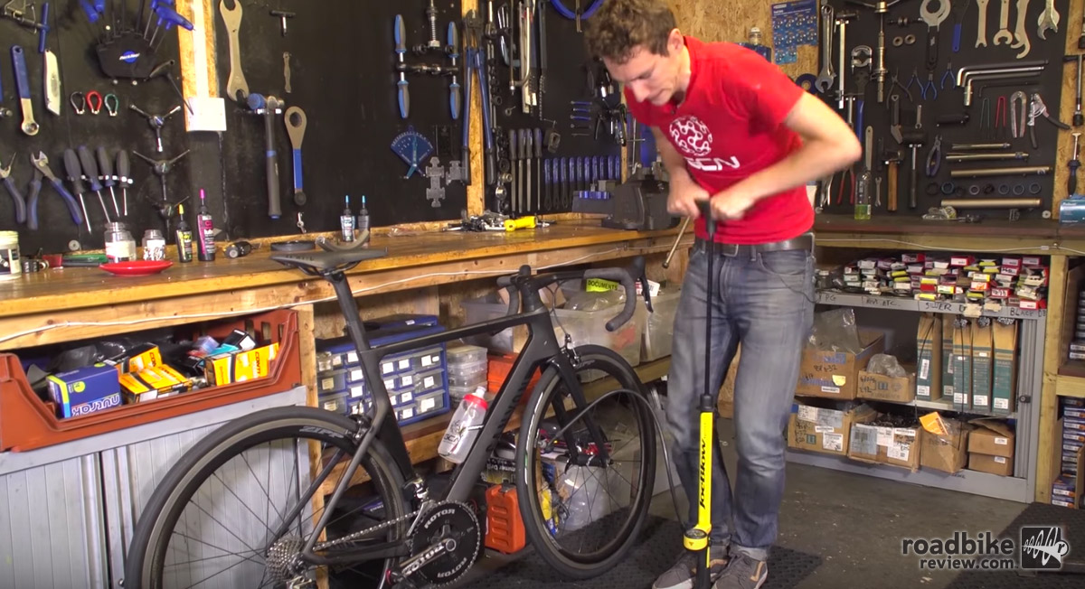 A track pump is a vital tool for any cyclist. That's why it's on the top of this list.