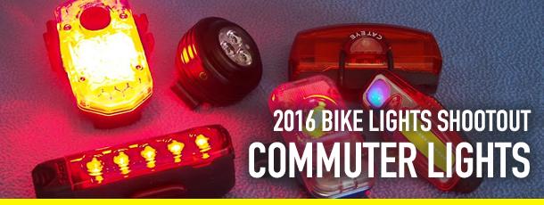 2016 Bike Lights Shootout Commuter Lights
