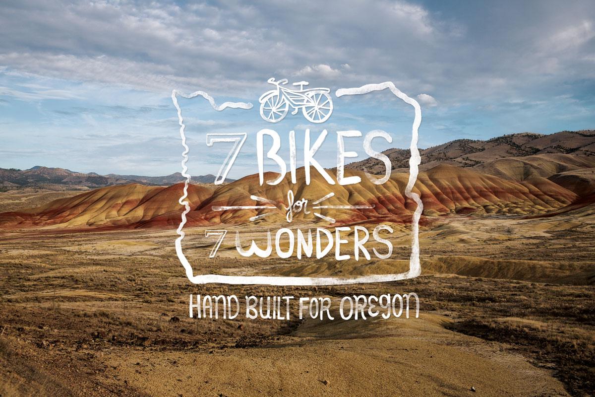 7 Bikes for 7 Wonders