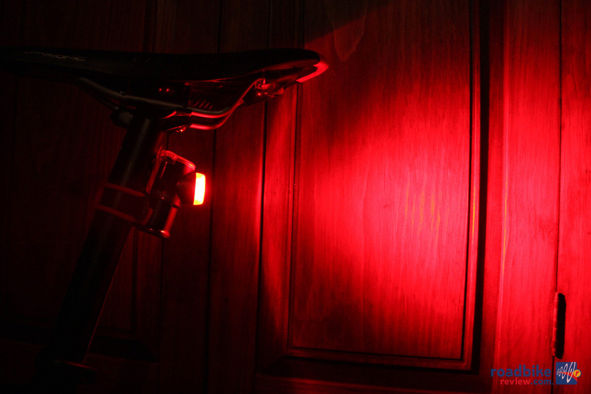 Quick Take Exposure Blaze Rechargeable Light Road Bike
