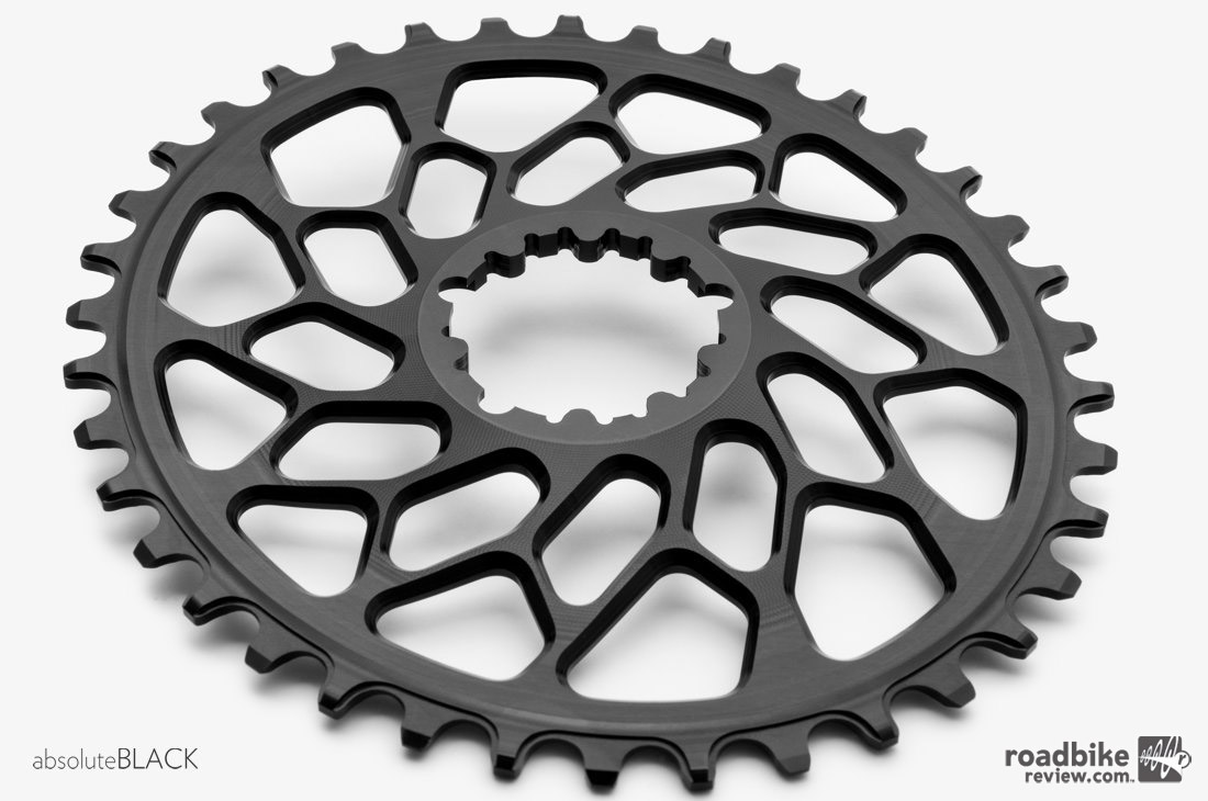 The Absoluteblack Oval Cyclocross chain rings are designed to directly retrofit to most popular cranks in the following options.