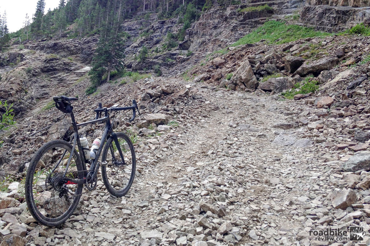 "This ""road"" deep in the Colorado backcountry served as prime testing ground for these wheels — and tubeless viability in general."