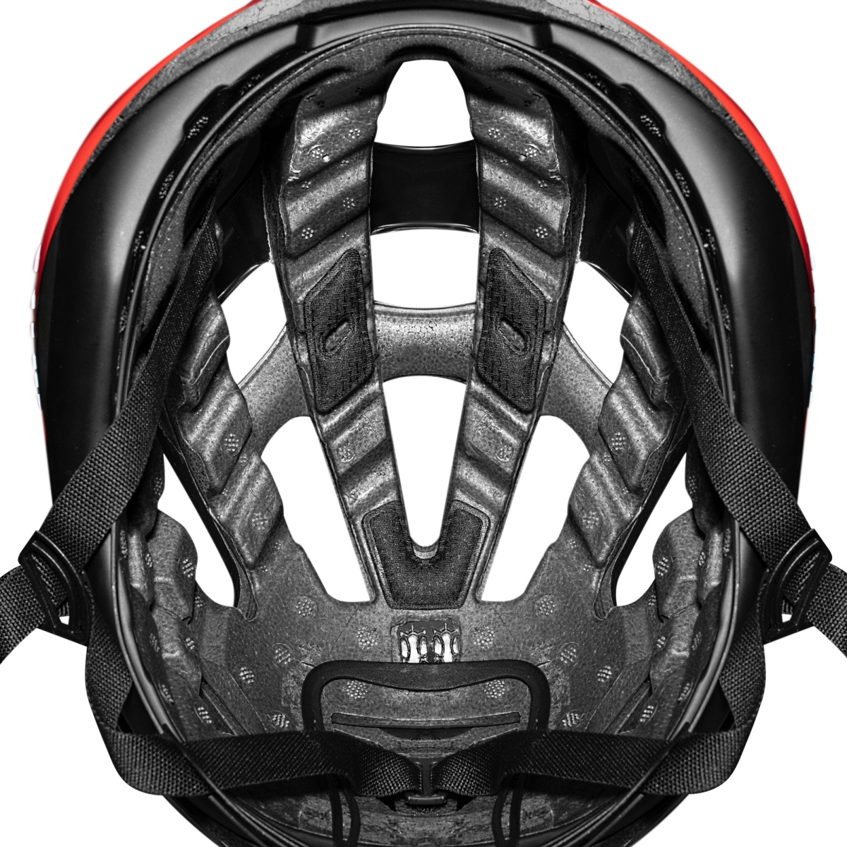 Giro's proprietary MIPS Spherical technology is embedded between the layers of EPS foam – instead of against the rider's head.