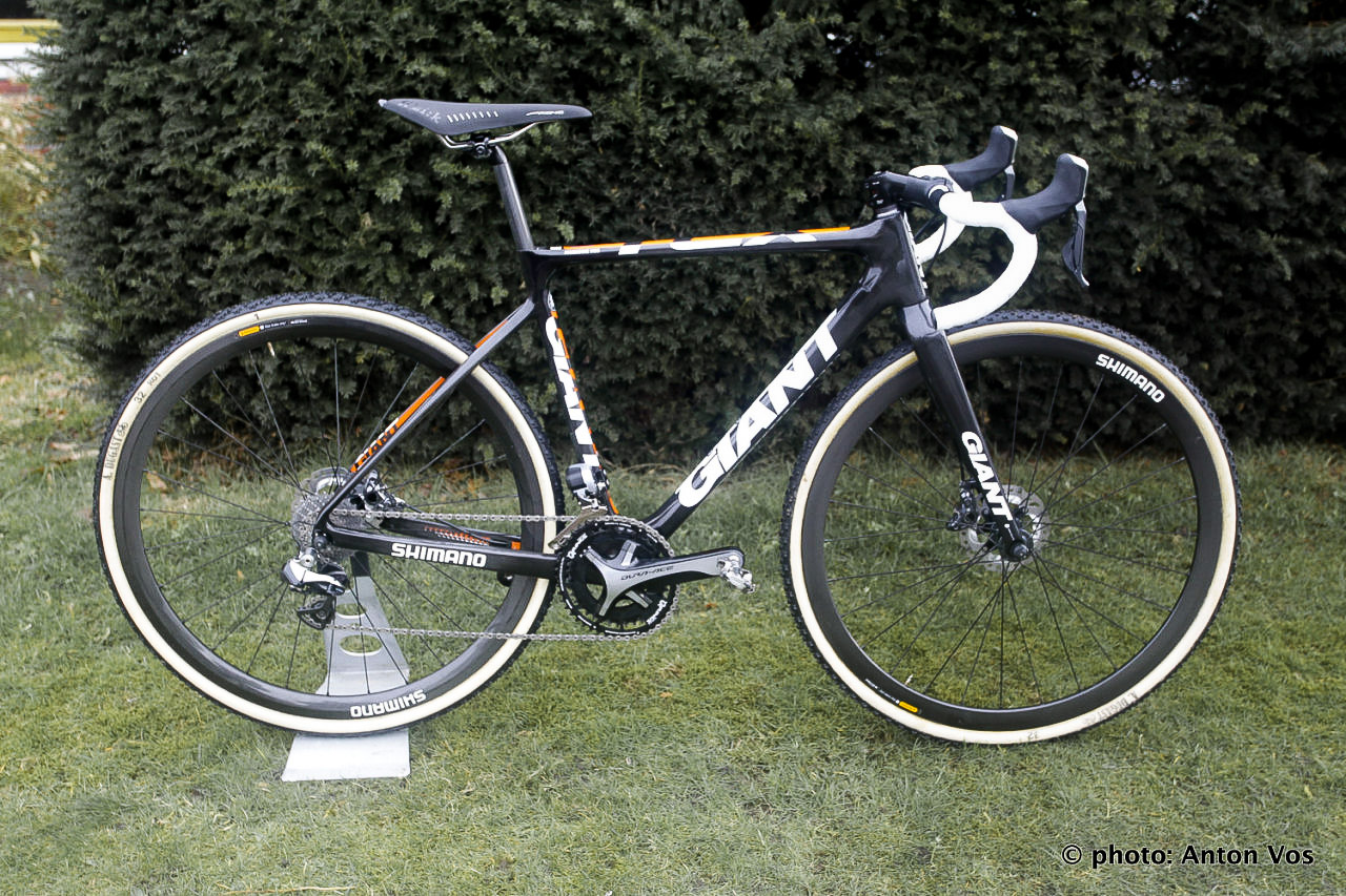 Marianne Vos' Giant TCX Advanced