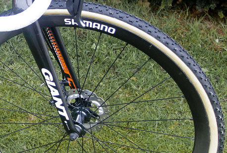 Shimano Carbon Tubular Disc Wheels