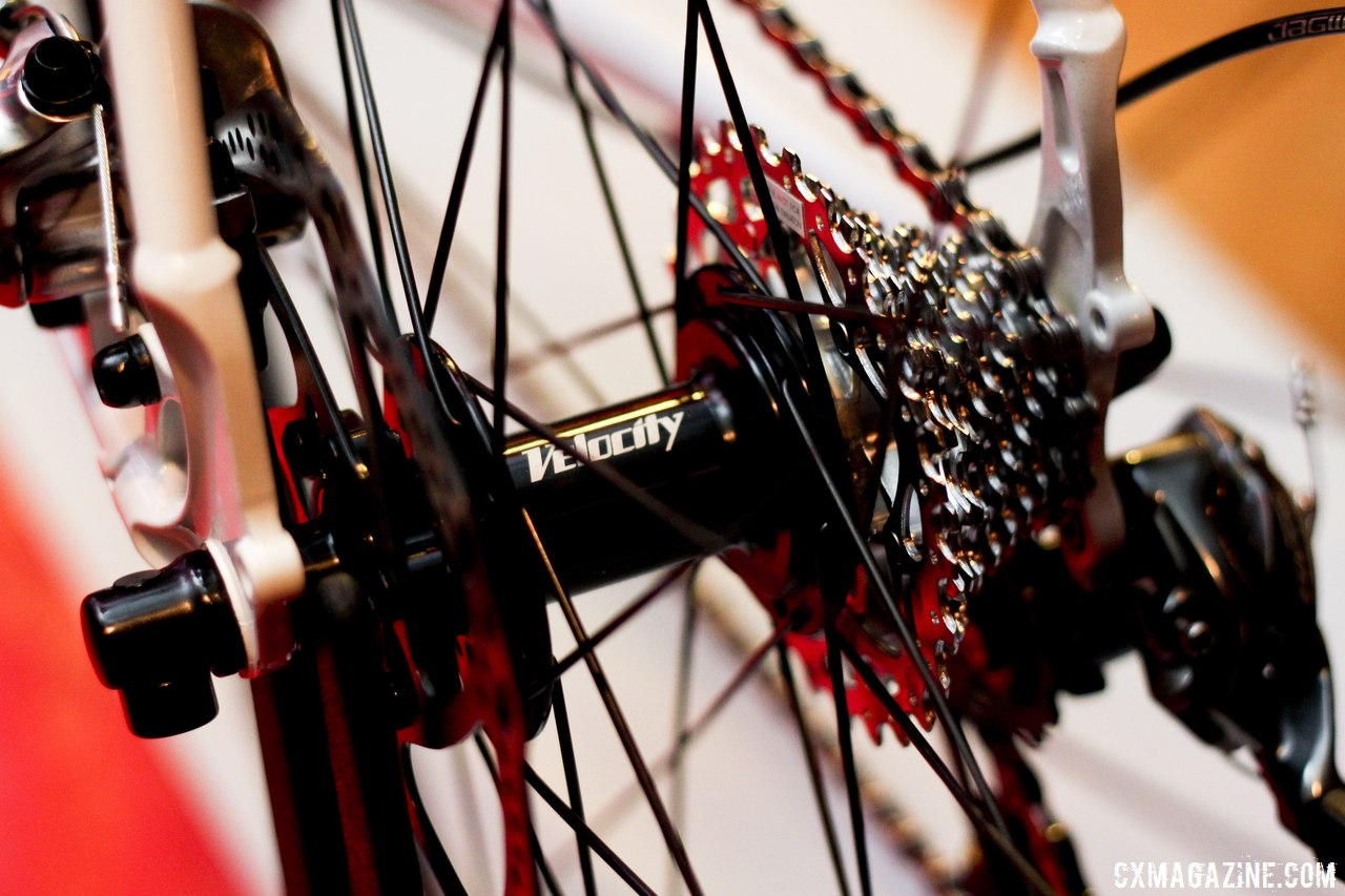Velocity Hubs Paired with NoTubes Iron Cross Rims