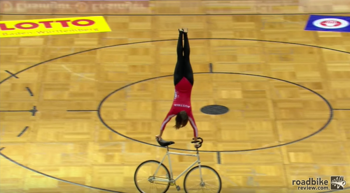 Video: Artistic Cycling World Championships