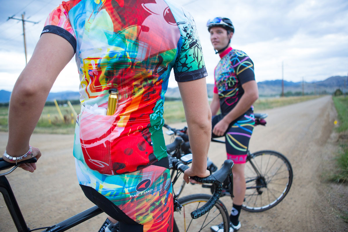 Pactimo turns over the design keys to talented artists from all over the U.S. and allows them free range to create. The end results range from casual to chaotic.
