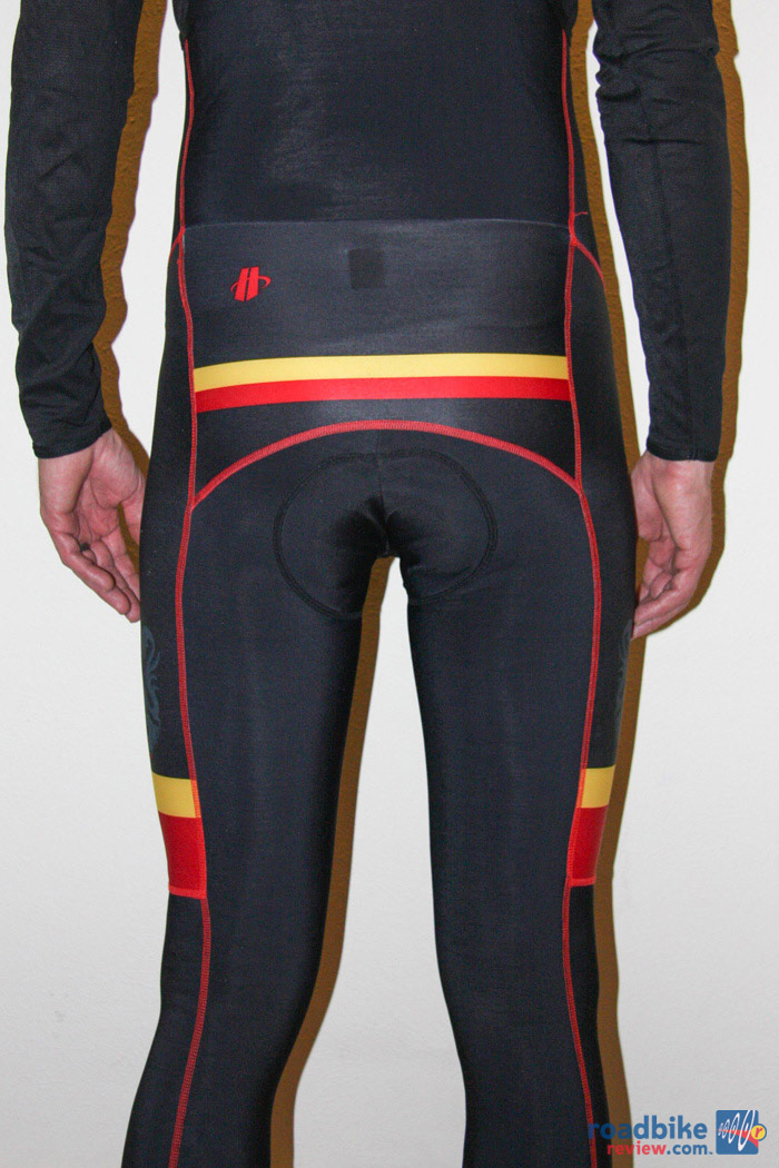 Hincapie Ronde Bibknickers Back View