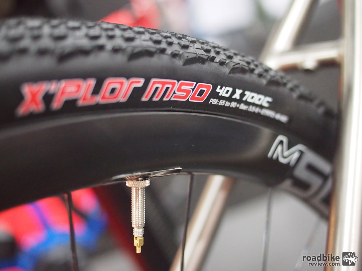 40 x 700 c tires and ENVE rims can take you almost anywhere.