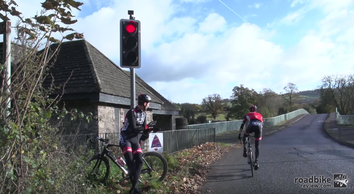 Don't run red lights. Do so and you're giving all cyclists a bad name.