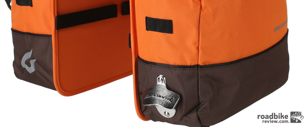 Blackburn's Local Cooler Pannier hauls a lot and keeps it cold. Photo courtesy of Art's Cyclery