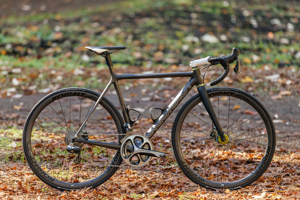 The T47 now comes standard on Argonaut Frames, and there is hope of more industry wide adoption down the road, as other domestic component companies work in collaboration with Chris King to embrace the new standard, which will be an open standard in 2016 for all builders and component companies to use. Photo by John Watson