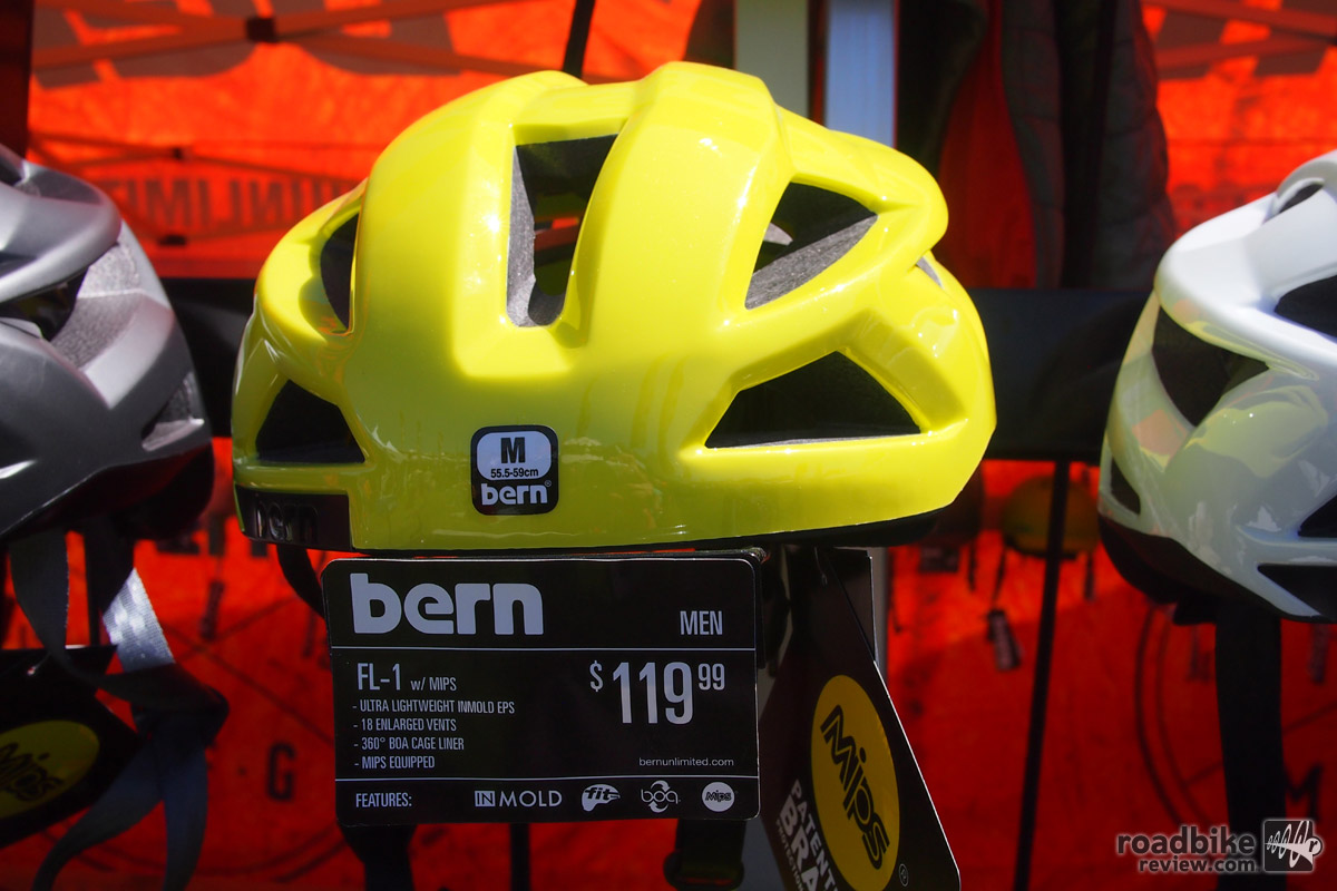 Bern FL-1 yellow