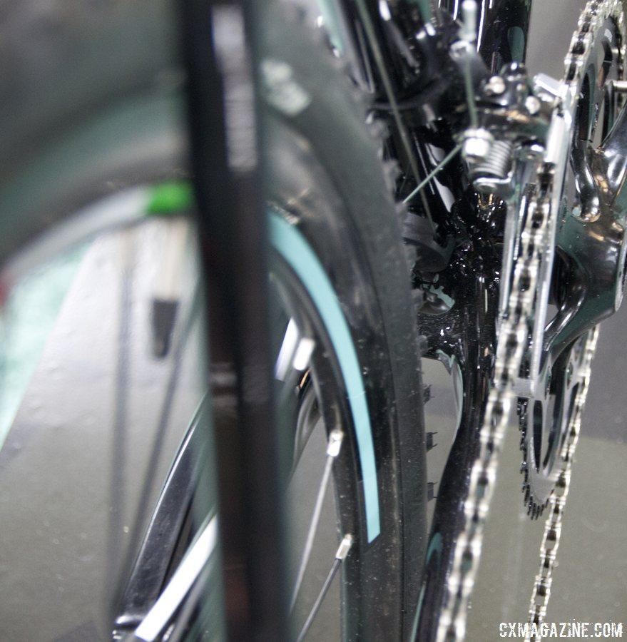 2014 Bianchi Zurigo Chainstay