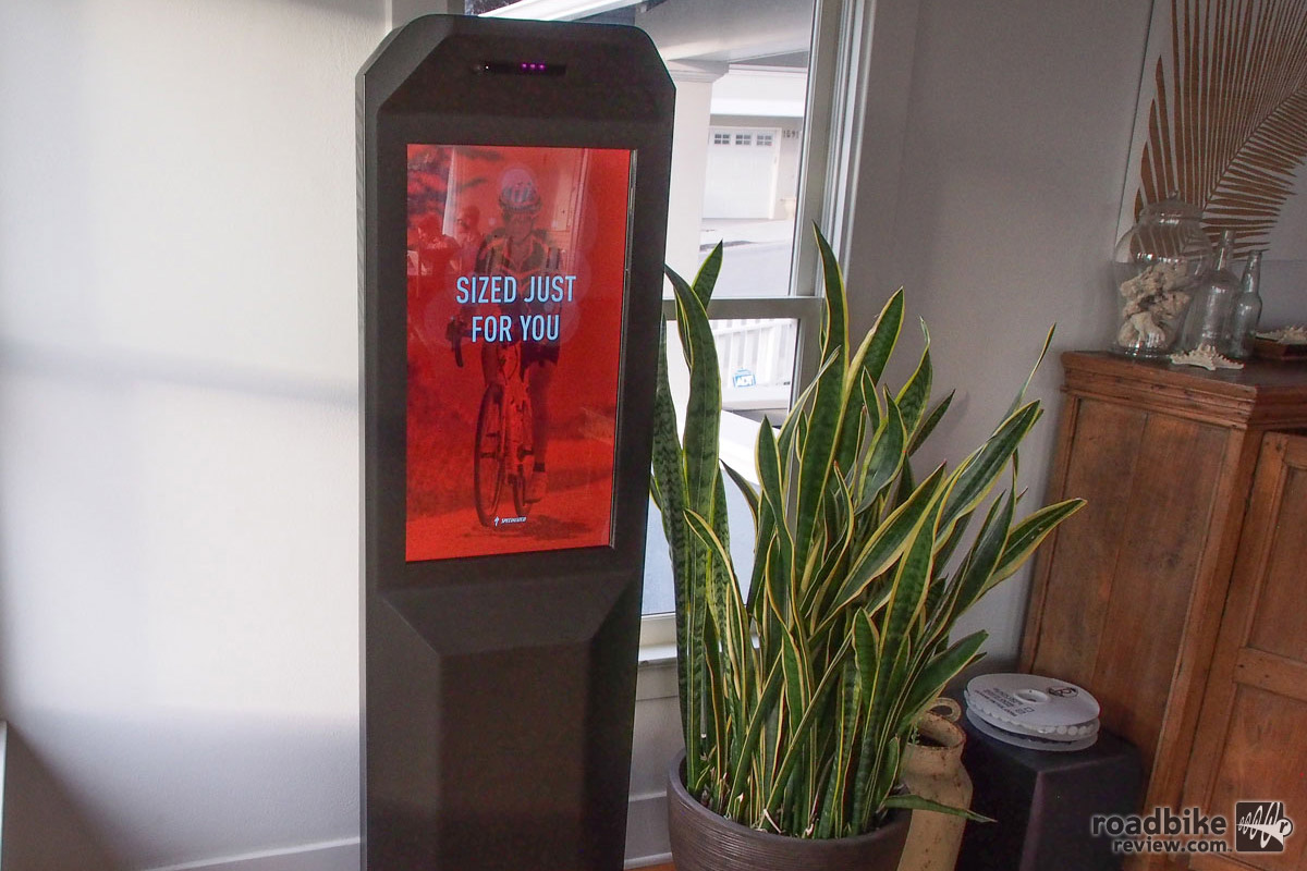 Look for this ATM-looking device to start showing up at bike shops in late April.