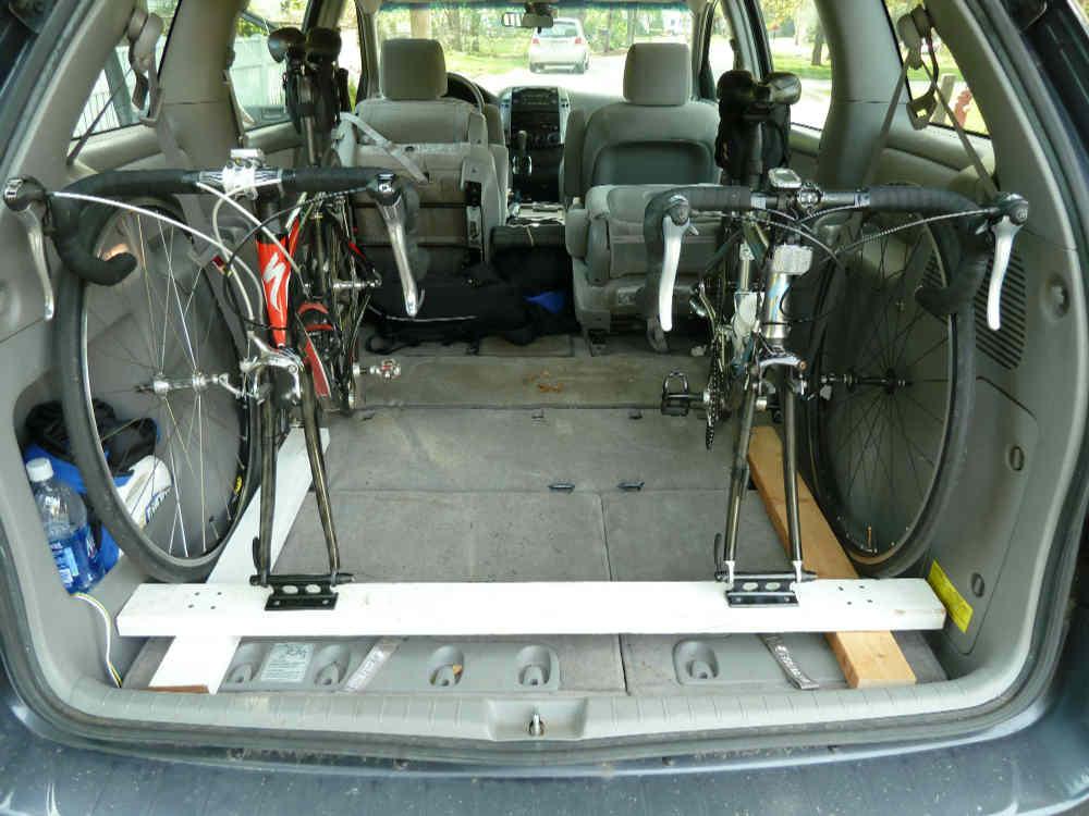 bike on car. Black Bedroom Furniture Sets. Home Design Ideas