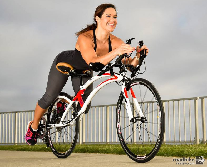 It's like a recumbent...sort of.