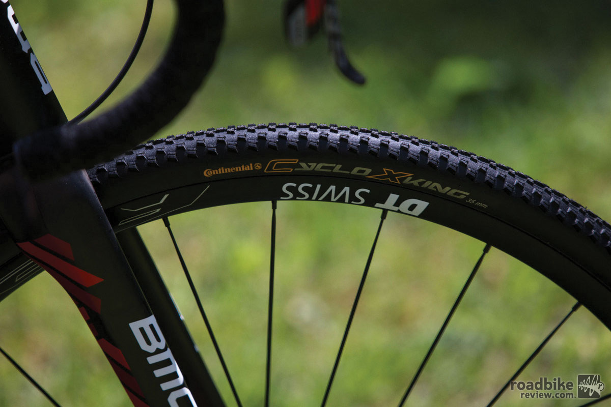 BMC Crossmachine CX01 Conti front tire